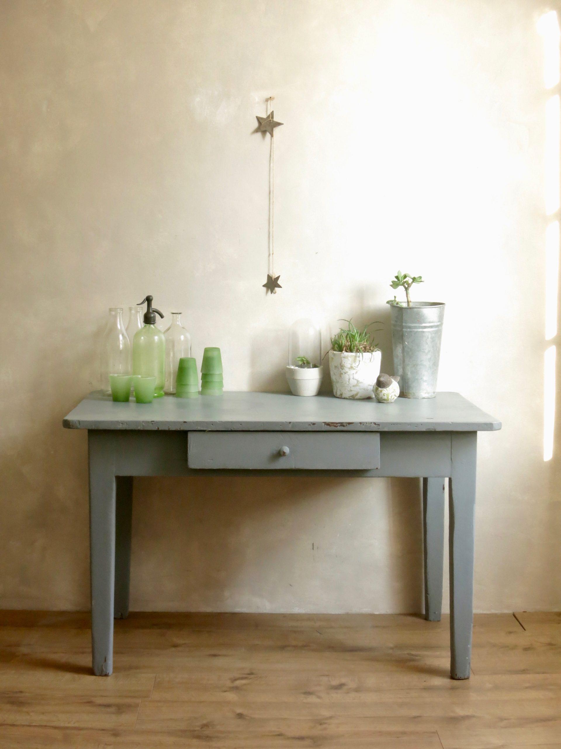 table de campagne table de ferme mobilier vintage ann es 50. Black Bedroom Furniture Sets. Home Design Ideas