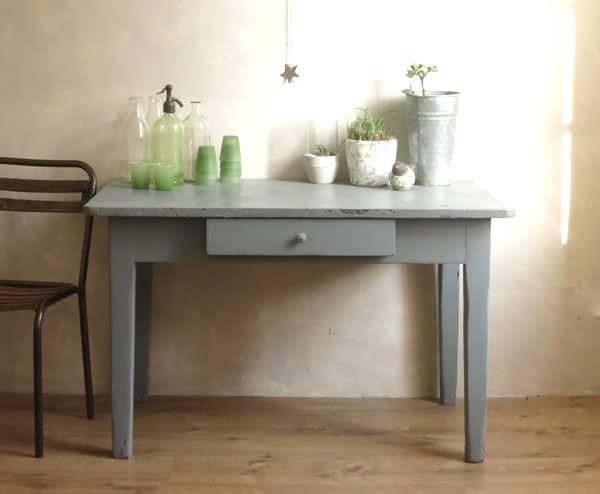 Mobilier Vintage, meubles vintage, table campagne