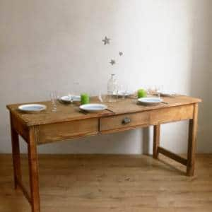 Table de ferme en pin