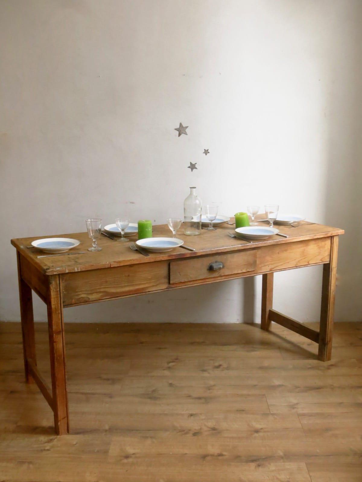 Table de ferme   C'est Vintage   Commodes, tables et buffets Vintage