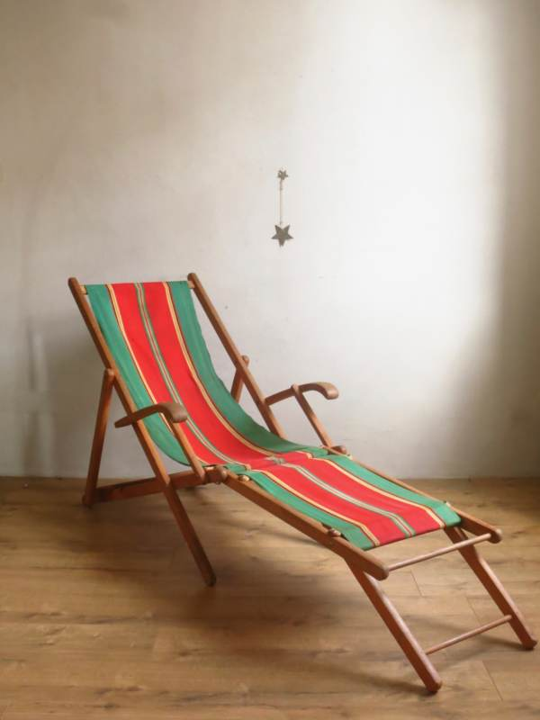 Chaise longue chilienne ancienne