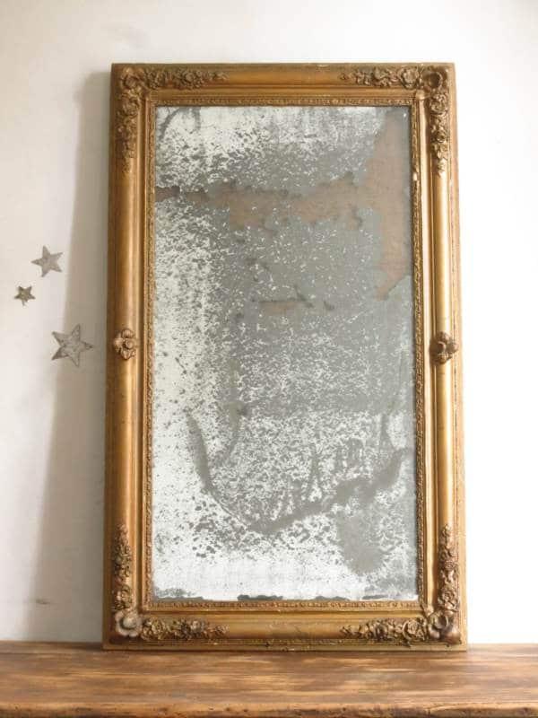 Miroir ancien époque restauration