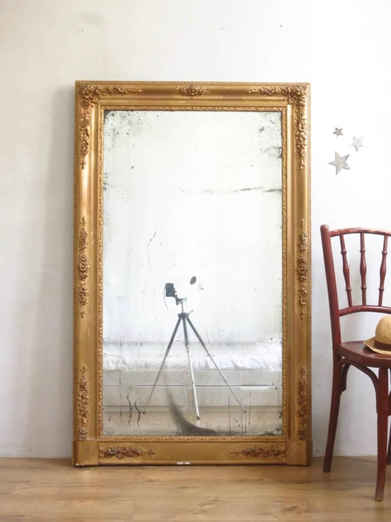 miroir ancien restauration