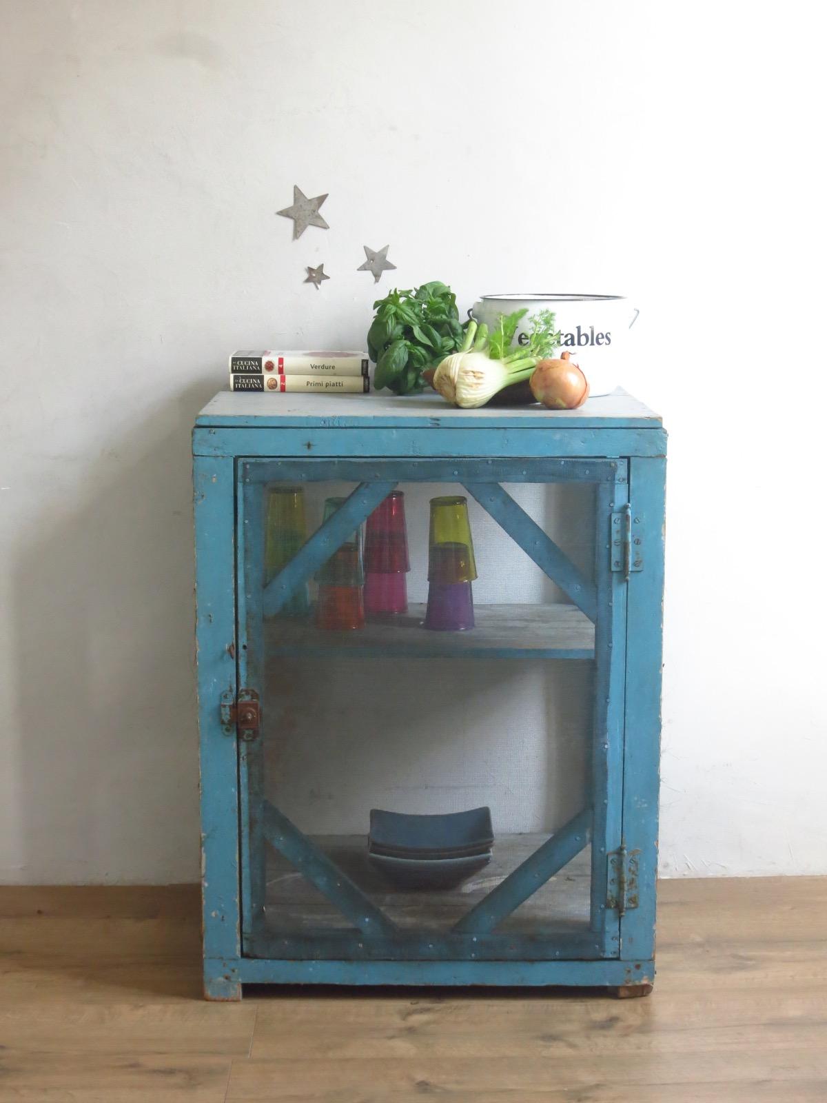 garde manger ancien mobilier vintage mobilier industriel. Black Bedroom Furniture Sets. Home Design Ideas