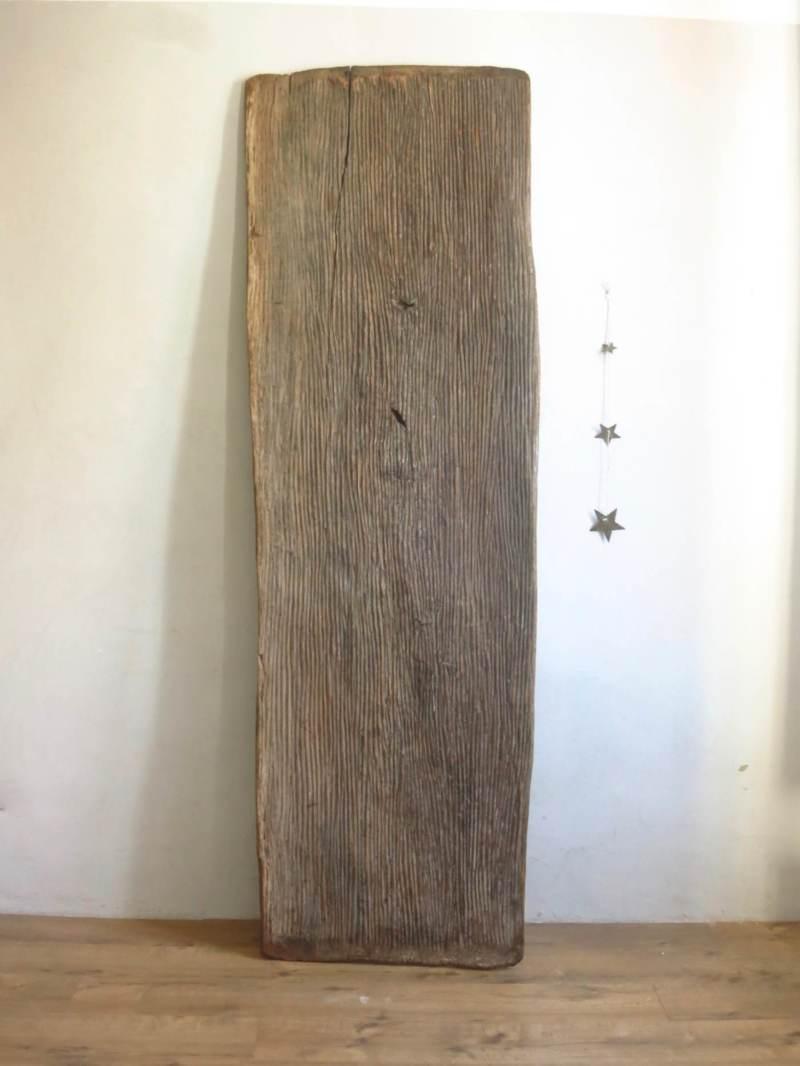 Plateau bois table industrielle