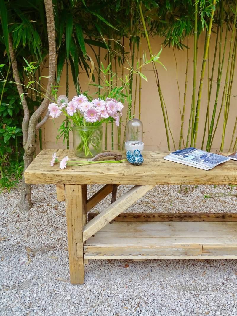 Etabli ancien meuble de metier