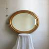 Miroir ancien ovale