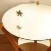 Table basse verre miroir