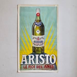 Aristo affiche publicitaire