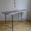Table medicale metal