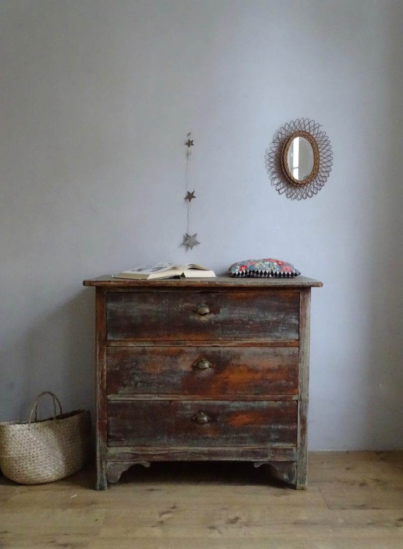 Buffet commode industriel