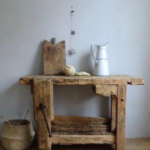 Etabli petit tiroir
