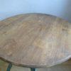 Table industriel ronde