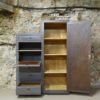 Meuble escalier industriel