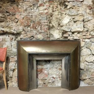 Manteau cheminée Laiton Beppo