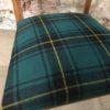 Chaise vintage tartan