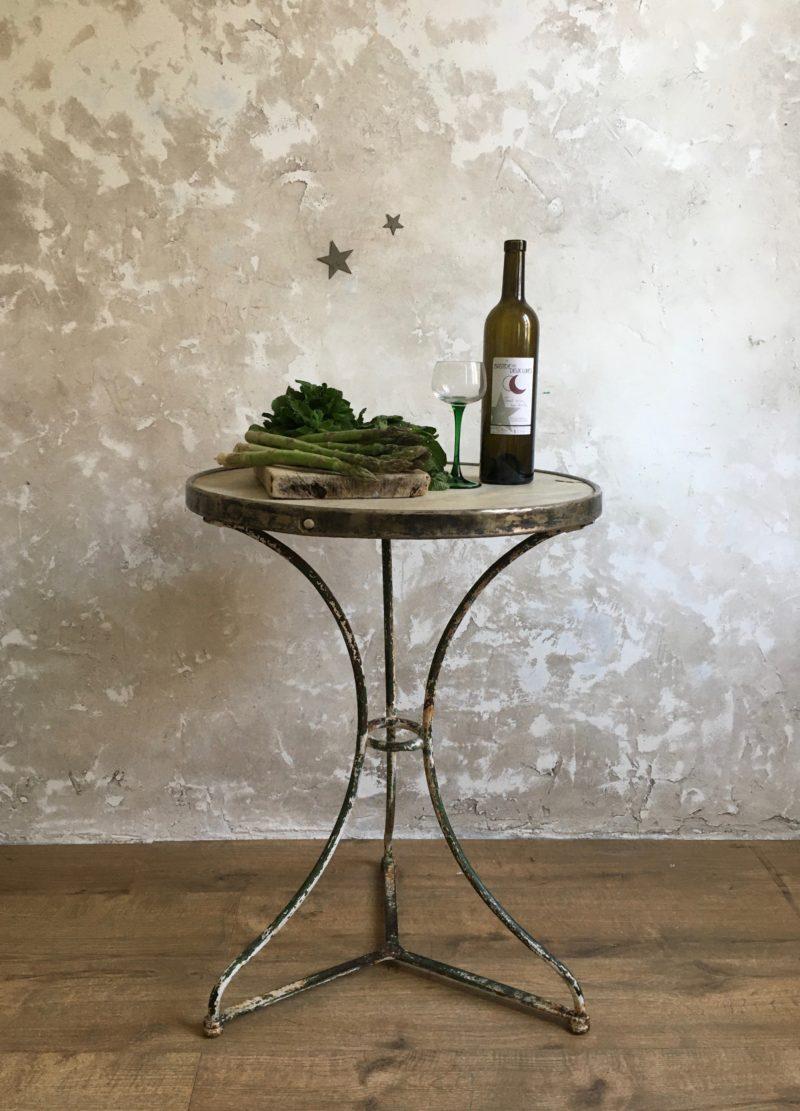 Table bistrot marbre arras